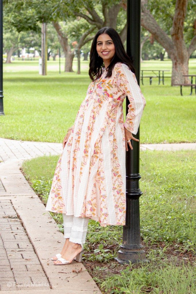 review of Kayseria ready to wear pink floral