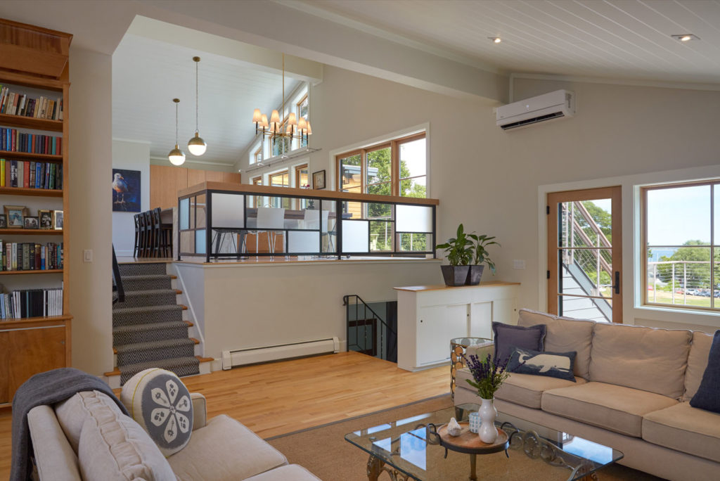 An Awesome Update Of A Split-Level Mid-Century Modern Home