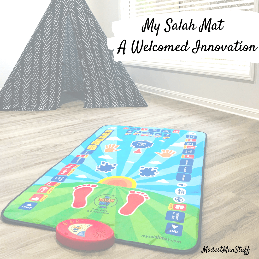 My Salah Mat – A welcomed innovation.