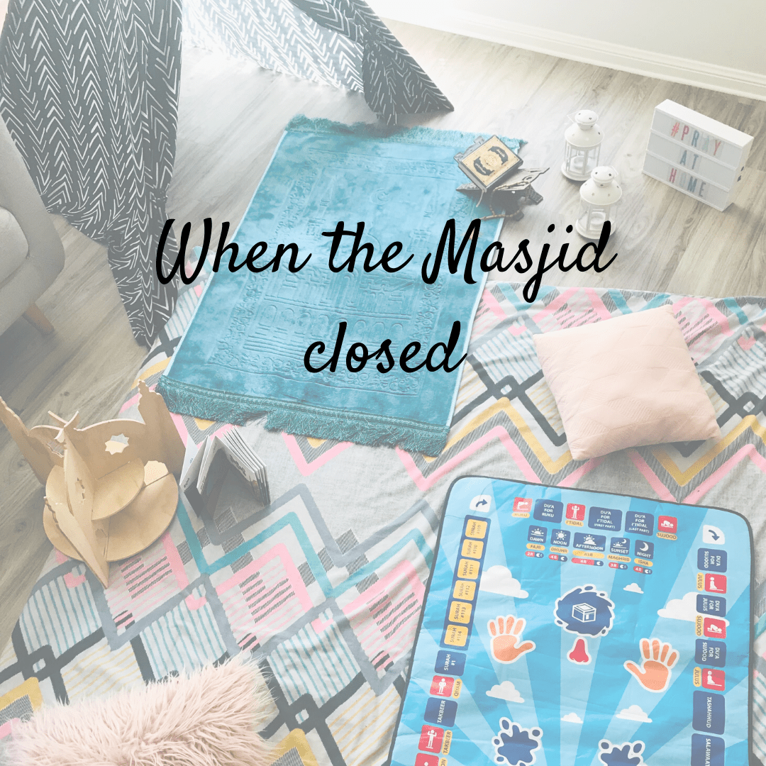 When the Masjids closed…