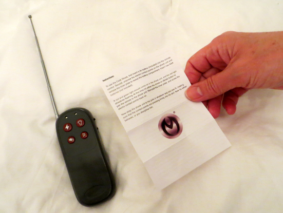"Modesty Ablaze reviews the ""Master Series Cock Shock Remote Controlled Cock Ring"" from @UberKinky"