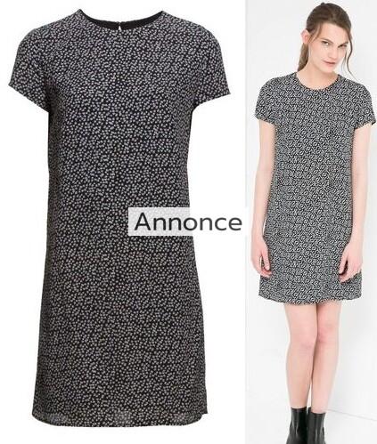 MANGO Floral Print Dress kjole print