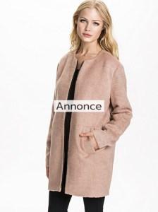 VERO MODA EXPERT JACKET frakker til store kvinder oversize frakke