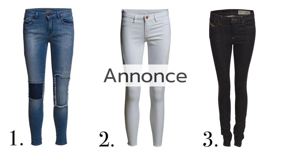jeans med huller til kvinder udsalg