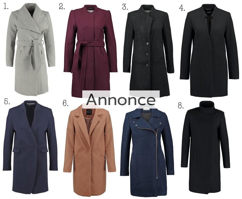 frakker til efteråret damer kvinder online efterårsjakke efterårsfrakke udsalg rabat