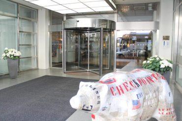 eingangsbereich hotel crowne plaza berlin blog erfahrungen