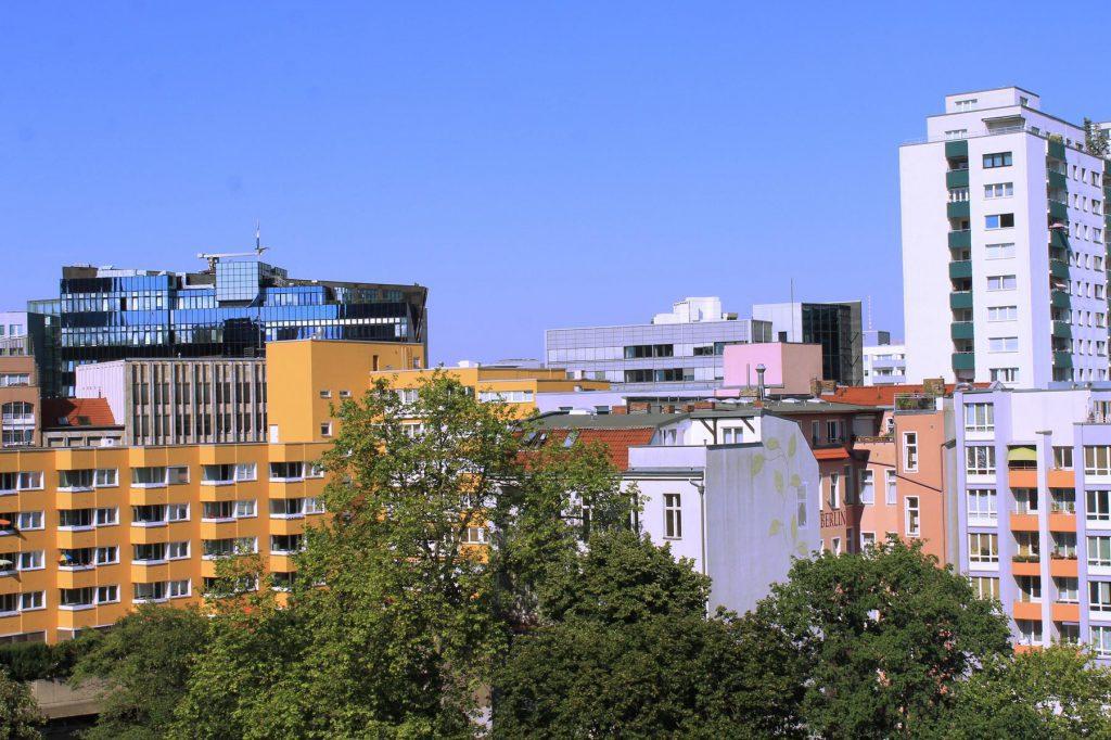 Ausblick aus dem Hotelzimmer Crowne plazy city centre berlin