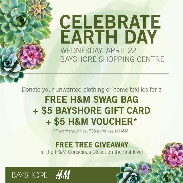 H&M Bayshore Ottawa Conscious Closet