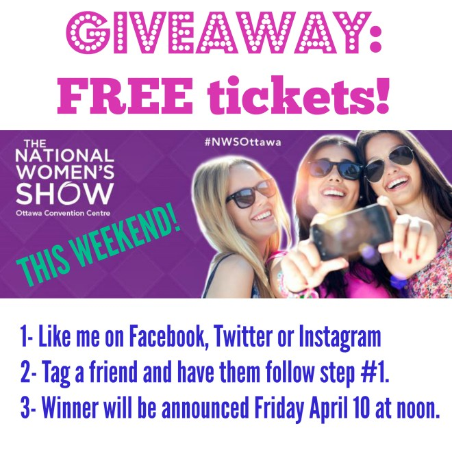 NWSOttawa Free tickets Blog