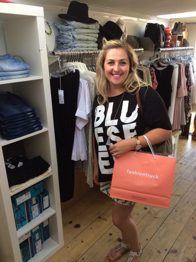 Fashion Truck Canada Ottawa RBC Bluesfest Fashion Blog Ottawa Fashion Blogger Plus-size curvy Chantal Sarkisian chantsy