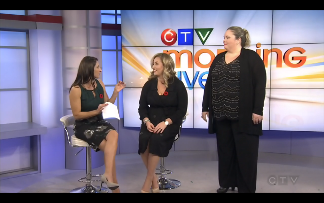 CTV Morning Live Mode Elusive Plus Size Fashion Holiday Dresses for Curvy Women Addition Elle