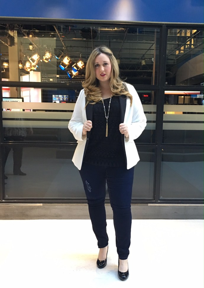 CTV Addition Elle Bra Mode Xlusive Chantal Ottawa Plus Size Fashion Blog Canadian Style Blogger Spring Fashion Street Style