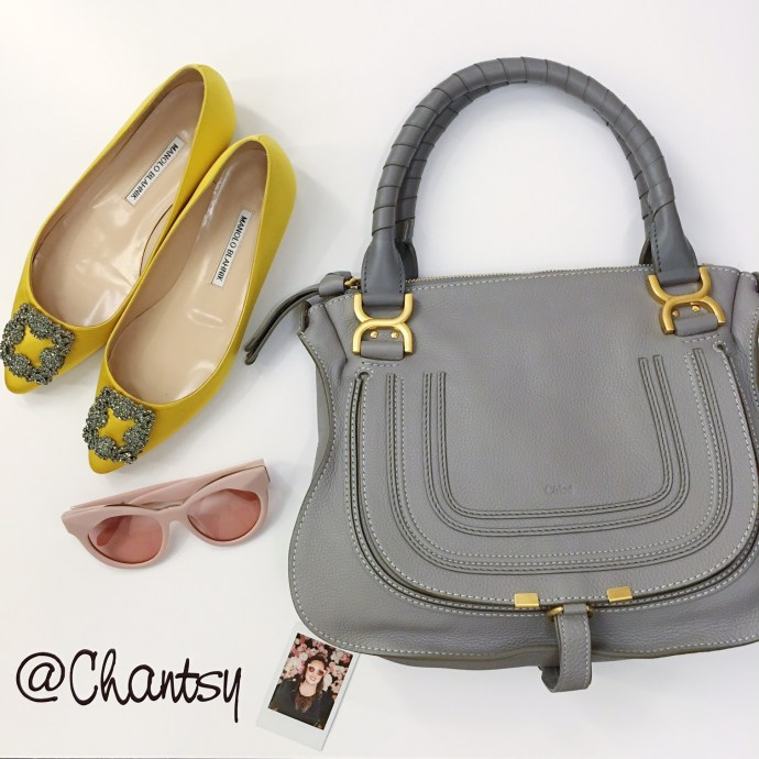 Nordstrom Ottawa Brunch Rideau Centre Ottawa Fashion Blog Designer Bag Chloe Manolo Karen Walker