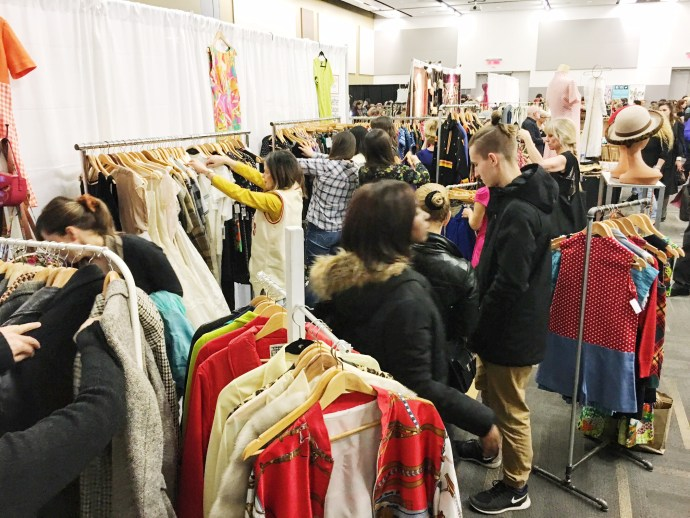 Ottawa Vintage Clothing Show Fashion Blog consignment