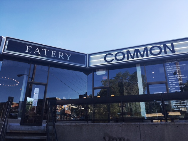 Common Eatery Ottawa New restaurant 2016 Elgin Street Ottawa Fashion Blog Common Concept