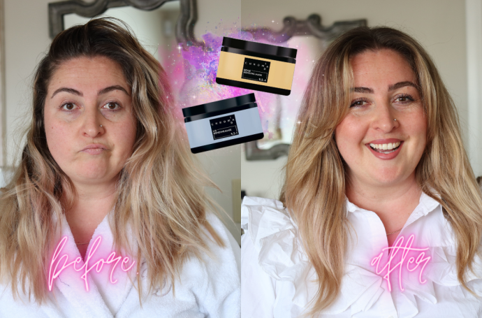 Toning hair at home with Schwarzkopf Chroma Id bonding color mask