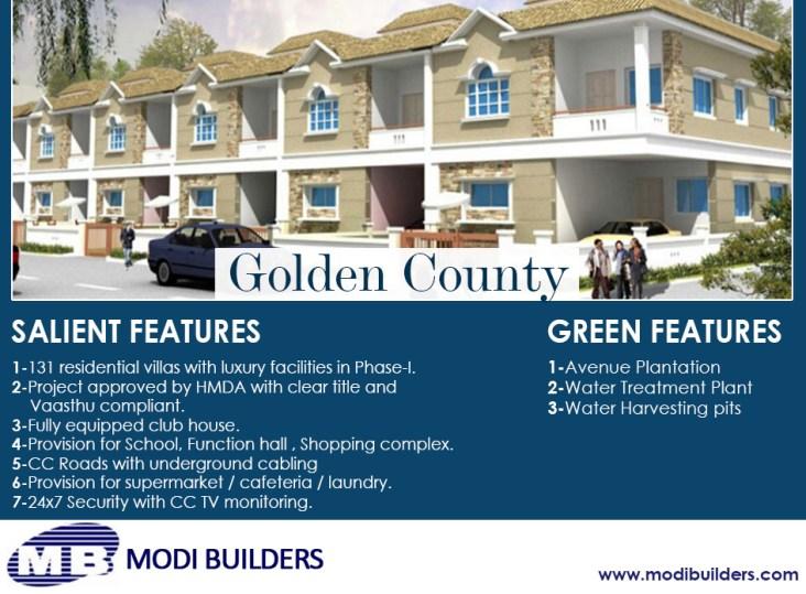Modi Builders Golden County