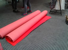 Red carpet !
