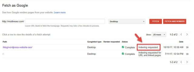 آموزش ایندکس سریع مطالب در گوگل