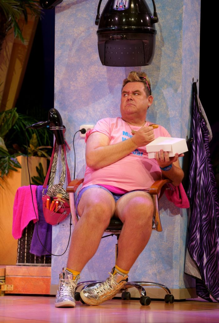 10. BENIDORM LIVE. Tony Maudsley 'Kenneth'. Photo Paul Coltas