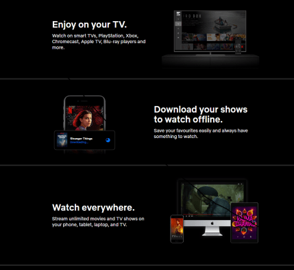 netflix premium cookies features
