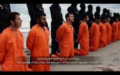 Kopski mucenici zavrazdeni moslimami isis