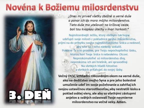Božie milosrdenstvo 3