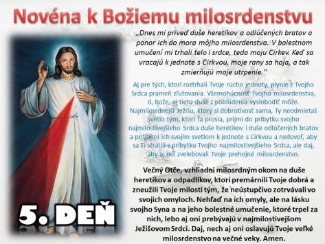Božie milosrdenstvo 5