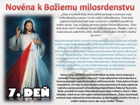 Božie milosrdenstvo 7
