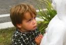 Chlapec a Panna Mária