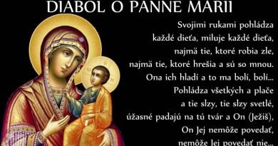 Keď Nebeská Maminka plače..