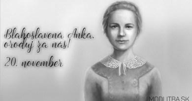 Novéna k blahoslavenej Anke Kolesárovej