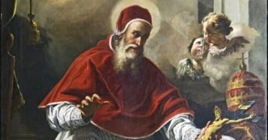Ružencová Panna Mária a svätý Pius V.