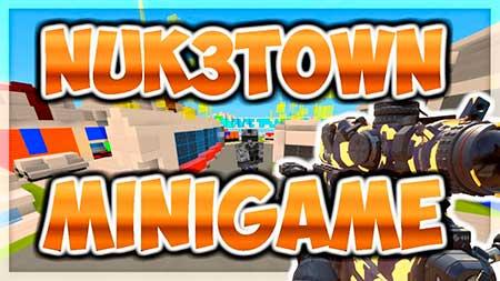 Карта FS NUK3TOWN для Minecraft PE