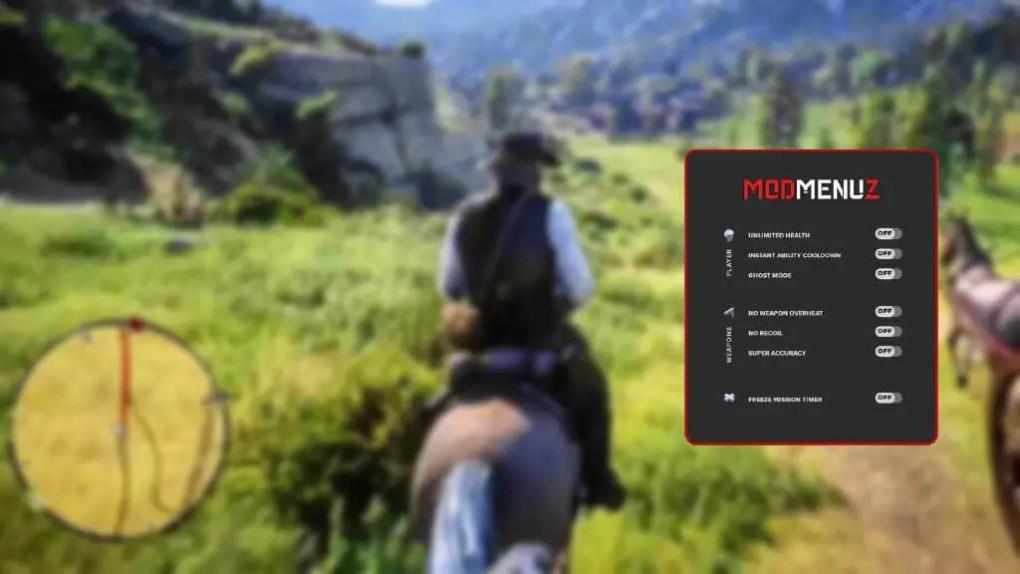 RDR2 Mod Menu for PC, PS4 & Xbox