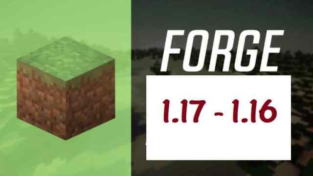 Minecraft Forge para Minecraft 1.17