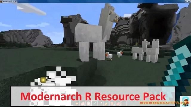 Modernarch R Resource Pack