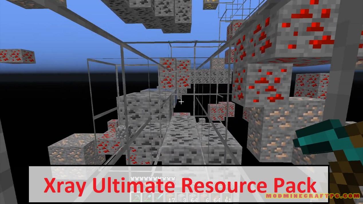 Xray Ultimate Resource Pack Mod Minecraft Pc