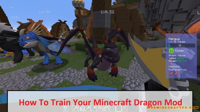How To Train Your Minecraft Dragon Mod