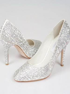 Wedding shoes 2018 year and their photos 24