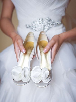 Wedding shoes 2018 year and their photos 26