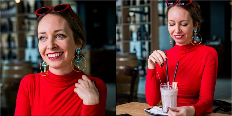 kruhove-nausnice-elisha fox-tyrkysove nausnice-sperky-bizuteria-modna blogerka-restauracia-smoothie-cervene okuliare