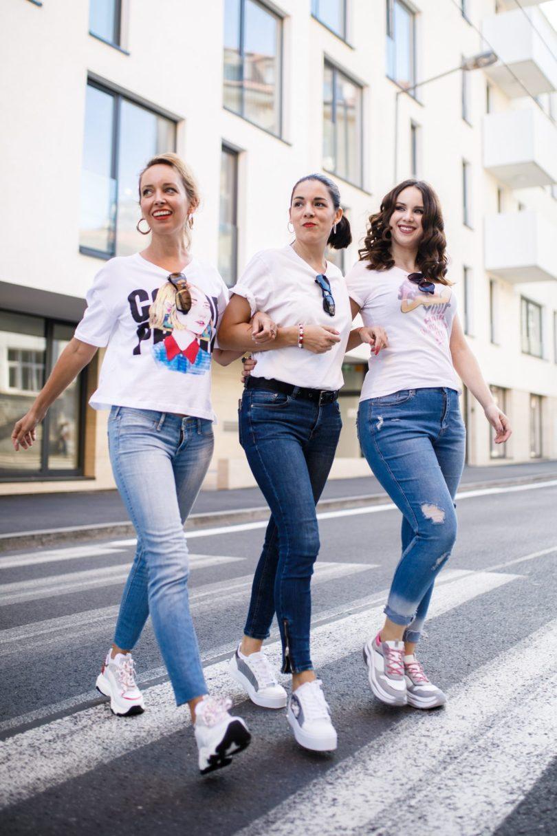 Tenisky trendy jesen Deichmann blogerky