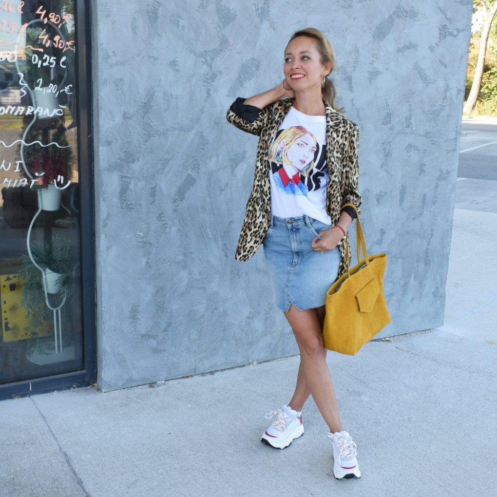 Tenisky škaredé outfit blog blogerka