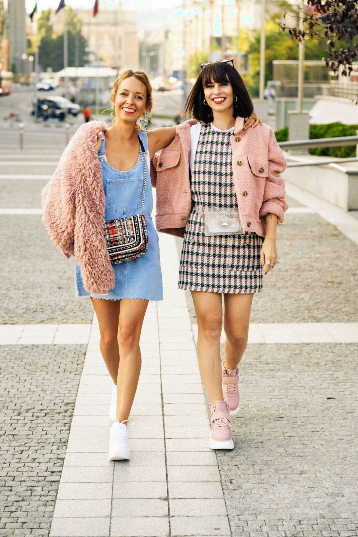 Tenisky Deichmann blogerky jesenny outfit
