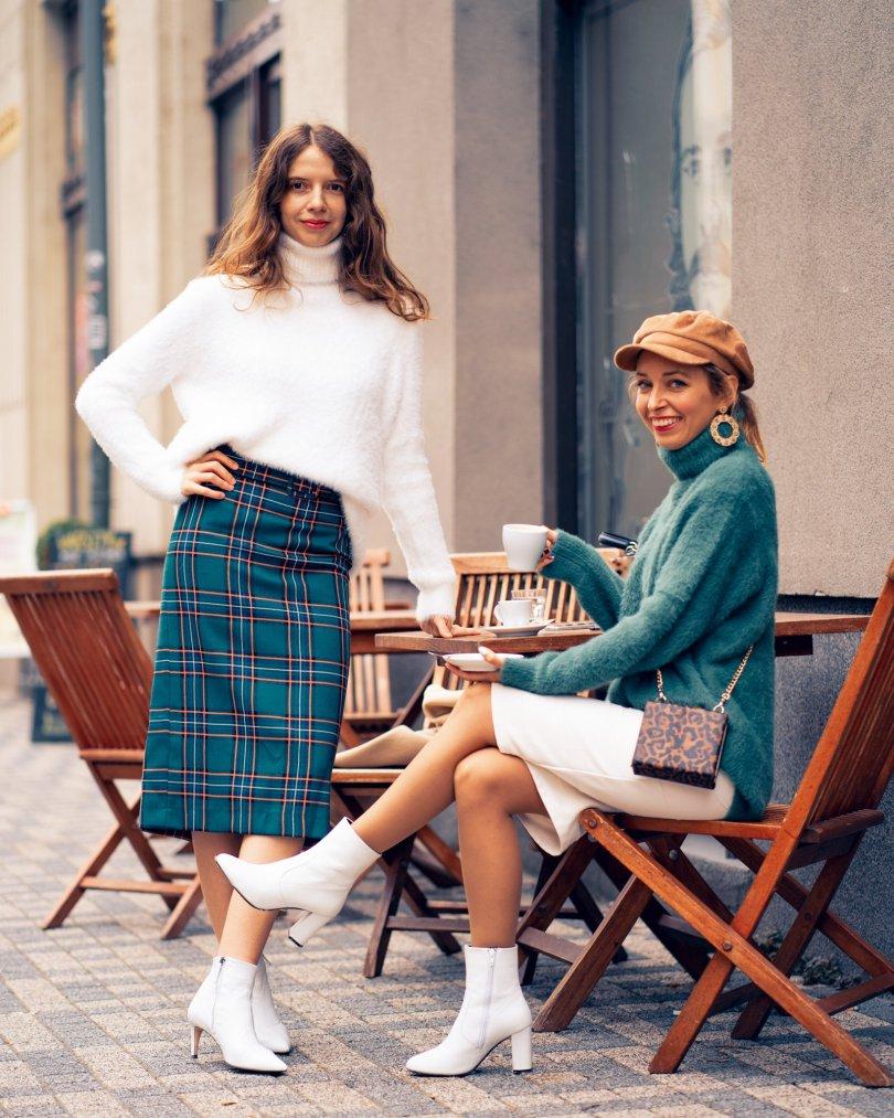 Ako na vlastny štýl Modny Tucet blogerka jesenna moda