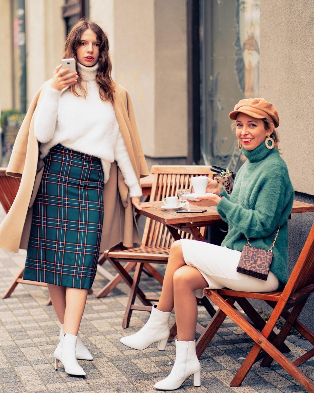 Modny tucet Livia Franova ako na vlastny styl sukna rolak jesenna moda