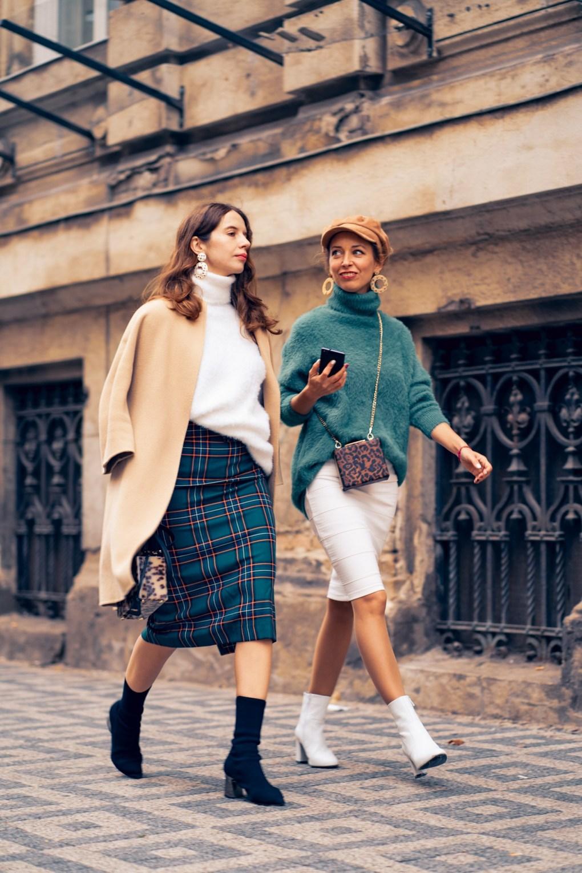 Ako na vlastny styl Modny tucet Livia Franova sukna rolak Zara jesenna moda
