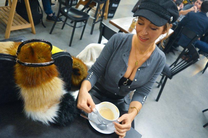 Neutralne farby vystrih kava kaviaren baker boy ciapka Modny tucet