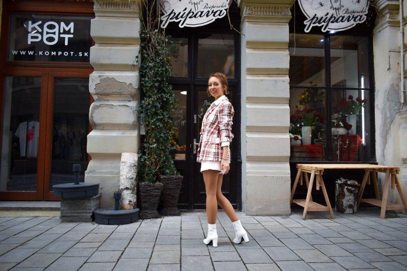 Topánky módny tucet 10 tipov na topánky biele čižmičky blog blogerka